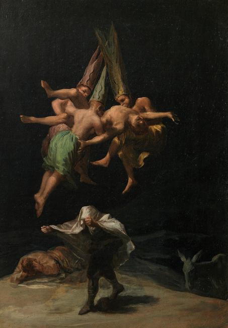 F. Goya - Vuelo de brujas