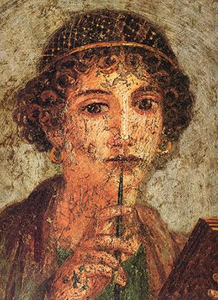 Pompei-Sappho