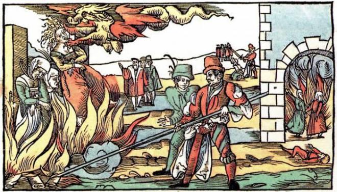 quema-de-brujas-en-Alemania-Edad-Media
