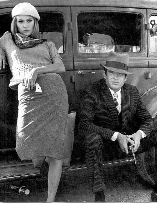 Fotograma de Bonnie and Clyde, (Arthur Penn-1967).