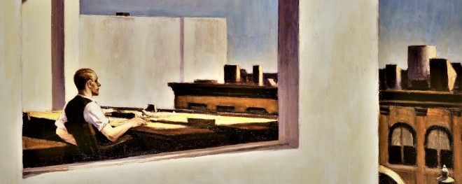 Edward Hopper office in a small city (3)