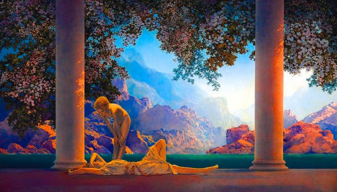 Maxfield Parrish - daybreak