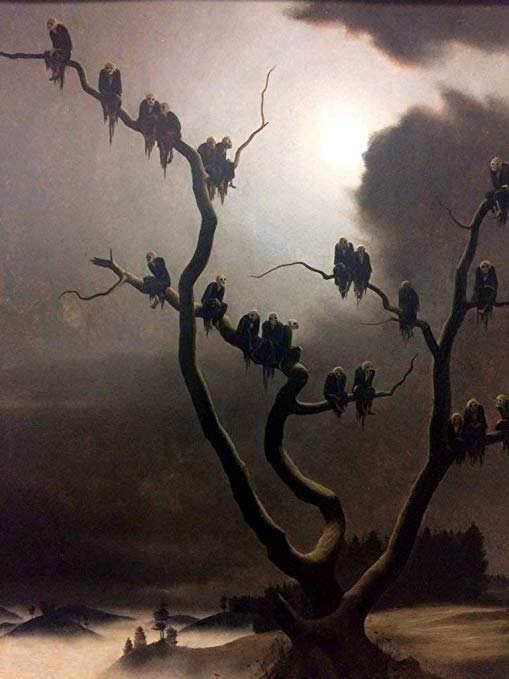 franz sedlacek ghosts on a tree